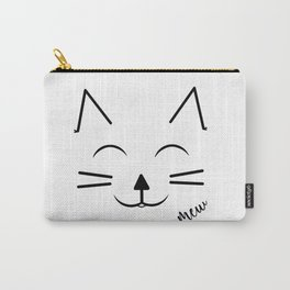 Happy Cat Carry-All Pouch