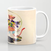 lsd Mugs featuring LSD love by Natsuki Otani