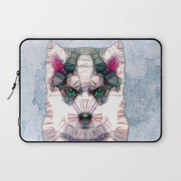abstract husky puppy Laptop Sleeve