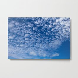 Small clouds on sky Metal Print