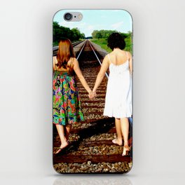 Walk With Me, Friend iPhone Skin