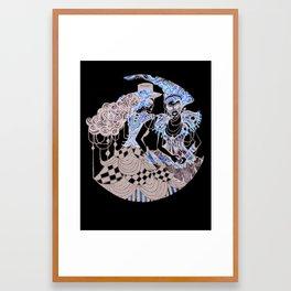 Harlequin Series 1 Framed Art Print