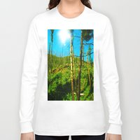 clear Long Sleeve T-shirts featuring Be Clear  by Rachel Ernst