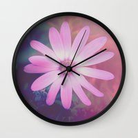 yin yang Wall Clocks featuring Yin Yang by dollmadeinjapan