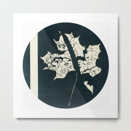 HERBARIUM. FORGOTTEN LEAVES. #7 Metal Print