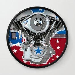 Star Spangled Wall Clock
