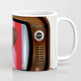 I Love TV vintage poster Coffee Mug