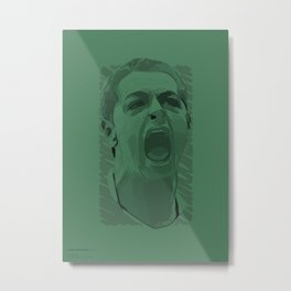 World Cup Edition - Javier Hernandez / Mexico Metal Print