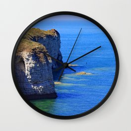 British coast Wall Clock