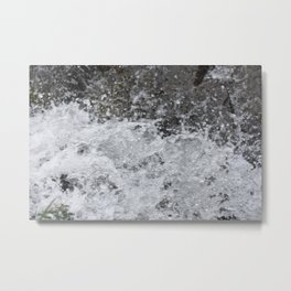 thesplash Metal Print