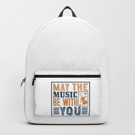 Violin - May The Music Be With You Backpack