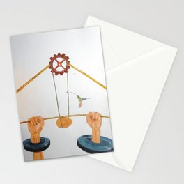 The vulnerable part of mechanisms Stationery Cards