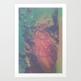 SCARS Art Print