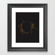 Apple Blossoms Framed Art Print