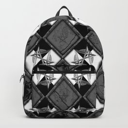 Unicursal Penta Pattern Backpack