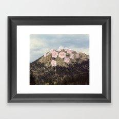 Rose Mountain Framed Art Print