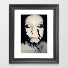 Portrait 02 Framed Art Print