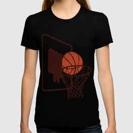 Basket Ball Basketball Hits Game Team Gift T-shirt