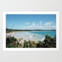 Bay Views  Art Print