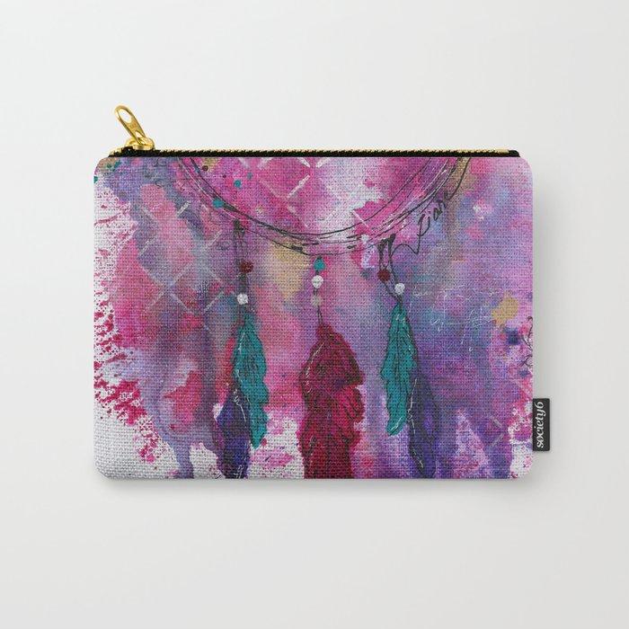 Splotch Art Dream Catcher Carry-All Pouch