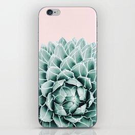 Succulent splendour - blush iPhone Skin