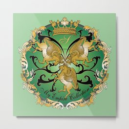 My Empire Collection Summer Set mint green Metal Print