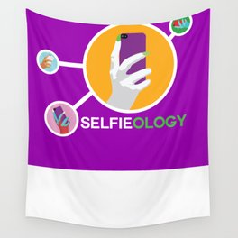 """""""Selfieology"""" Wall Tapestry"""