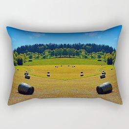Dance of the hay bales Rectangular Pillow
