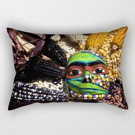 Seed Mask Rectangular Pillow