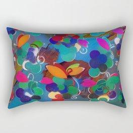 Colorful Abstract Grapes Rectangular Pillow