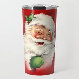 Vintage Santa Travel Mug