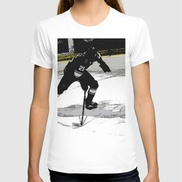 On the Move - Hockey Player T-shirt