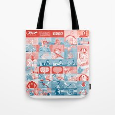 BIONIC! the motionless picture Tote Bag