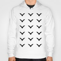 bats Hoodies featuring Bats by Katrina Zenshin
