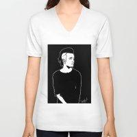 matty healy V-neck T-shirts featuring Matty. by Spazy Art