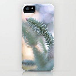 Trough leaves iPhone Case