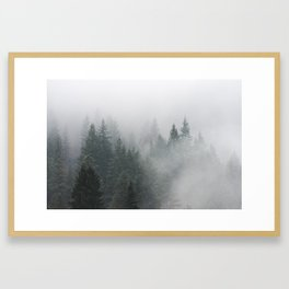 Long Days Ahead - Nature Photography Framed Art Print
