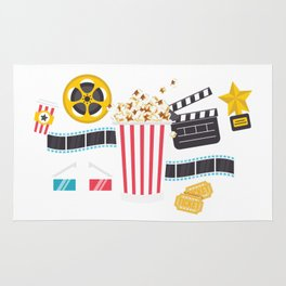 Movie Night Rug
