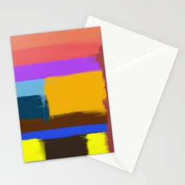 Abstract No 506 By Chad Paschke Stationery Cards
