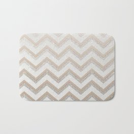 NUDE CHEVRON Bath Mat