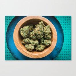 A Bowl of Citral Skunk Canvas Print