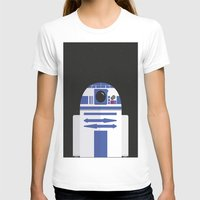 r2d2 T-shirts featuring R2D2 by FioMedina