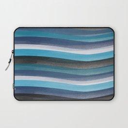 Blue lines Laptop Sleeve