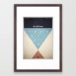 The Da Vinci Code Framed Art Print