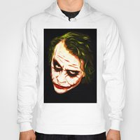 joker Hoodies featuring Joker by William Cuccio aka WCSmack