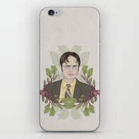 battlestar iPhone & iPod Skins featuring Bears, Beets and Battlestar Galactica by Laura Francis Design