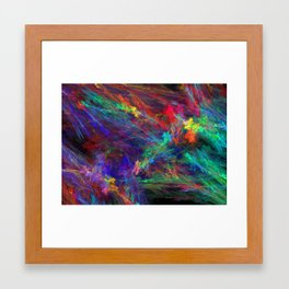 Ice Cream Kaleidoscope Framed Art Print