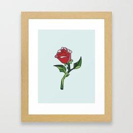 BELLES ROSE Framed Art Print