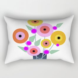 Floral Potpourri Rectangular Pillow