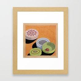 Small bowls n. 4 Framed Art Print